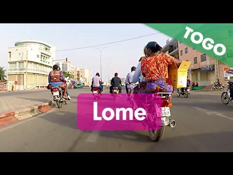 Routes du Togo : Lomé (du Nord au Sud)
