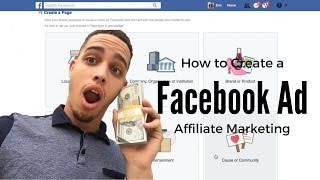 How to create a Facebook Ad for Affiliate marketing! FAST and EASY!