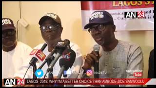 WHY I'M RUNNING AGAINST AMBODE AS GOVERNOR OF LAGOS STATE- JIDE SANWOOLU