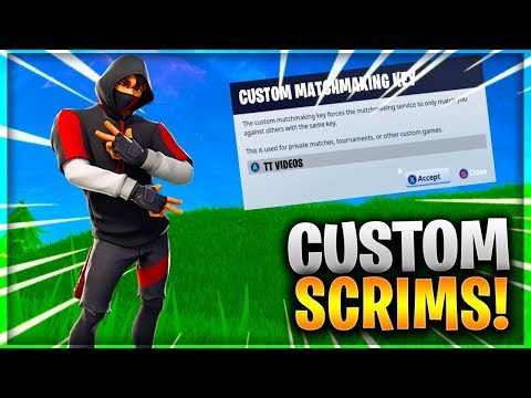 fortnite custom matchmaking server key