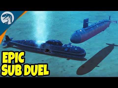 GIANT SUBMARINE BATTLE SIMULATOR, TORPEDO DESTRUCTION | Cold Waters Single Mission Gameplay 1