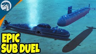 Baixar GIANT SUBMARINE BATTLE SIMULATOR, TORPEDO DESTRUCTION | Cold Waters Single Mission Gameplay 1