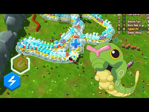 Snake Rivals - NEW SNAKE UNLOCKED (CATERPILLAR)