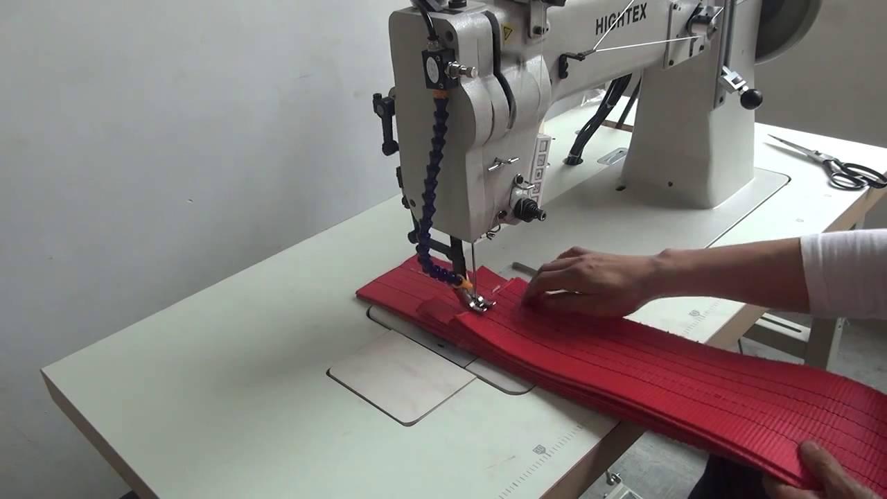 Máquinas De Costura Industrial Reta Transporte Duplo Para Materiais