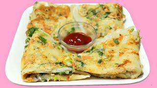 চটপট টিফিন বা নাস্তার রেসিপি   Quick Easy Healthy Breakfast Recipe   Dimer Ruti Video