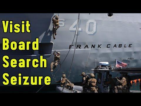 Visit Board Search and Seizure