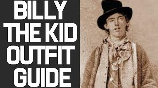 RED DEAD REDEMPTION 2 - BILLY THE KID OUTFIT GUIDE (CLOTHING, HAIR, GUNS)