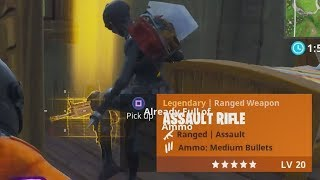 HOW TO STEAL SOMEONE'S GOLD SCAR IN FORTNITE