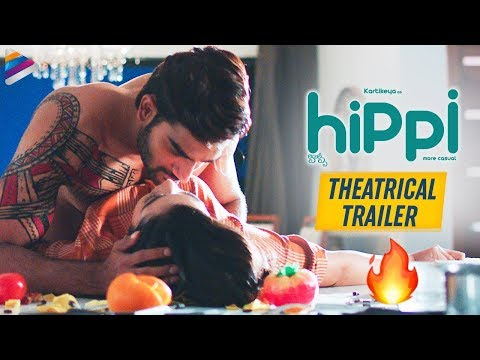 Karthikeya Hippi Movie Trailer | Digangana Suryavanshi | Jazba Singh | 2019 Latest Telugu Movies