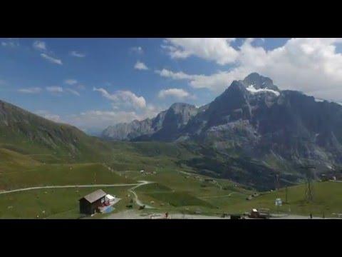 Grindelwald-First, Swiss DJI Phantom 3 Pro 4K HD