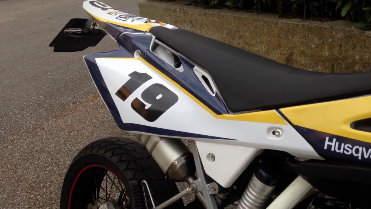Husqvarna 2t Scalvini exhaust sound