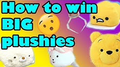 Win BIG Plushies! | 5 Tips & Tricks [Toreba Crane Game]