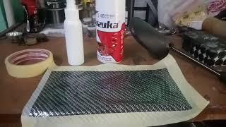 Cara nyelup carbon tutorial pembuatan carbon celup.