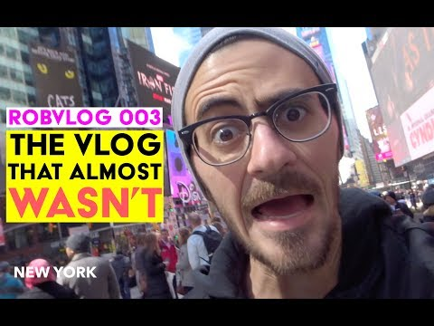 The Vlog That Almost Wasn't  RobVlog 003