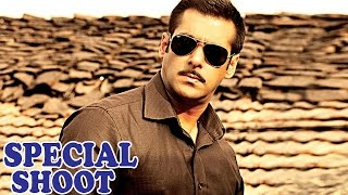 Salman Khan Shoots Special Eid Song For