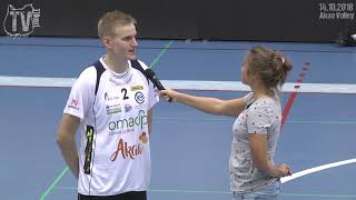 Tiikerit - Akaa Volley su 14.10.2018 - Sauli Sinkkonen