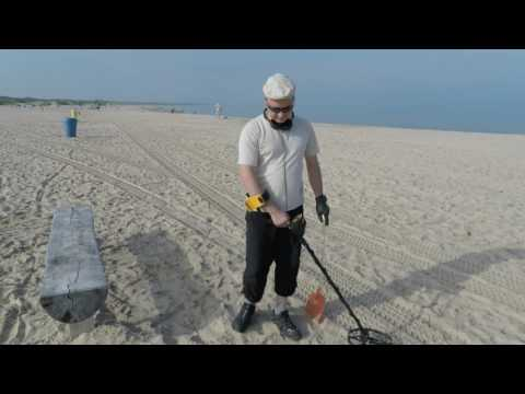 Metal detecting Latvia  - Gorgeous Ventspils Beach