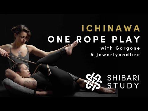 Shibari Tutorials - ICHINAWA | Sensual bondage with one rope
