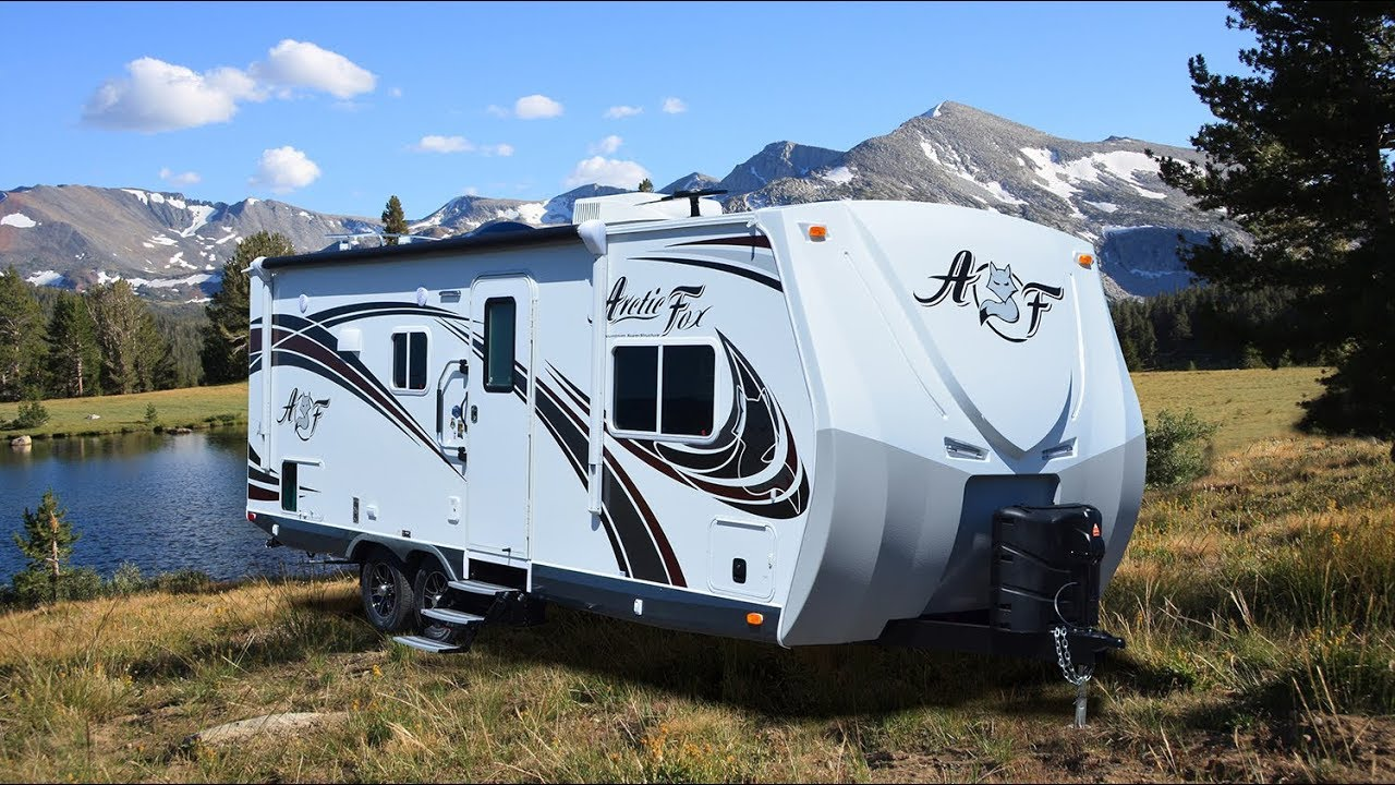 Quick Tour Of the Arctic Fox 25R Travel Trailer - YouTube