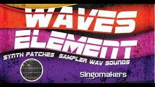 Waves Element Synth Sounds - Singomakers Waves Element Synth Patches