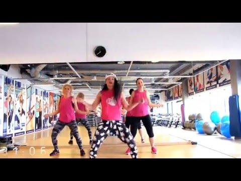 Wah Gwan! Dancehall Fitness Class - Trening taneczny w klubie fitness /Botka Art/
