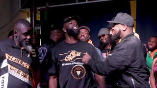 MOON vs SUPERBLACK (crazy rap battle) hosted by John John Da Don | BULLPEN BATTLE LEAGUE