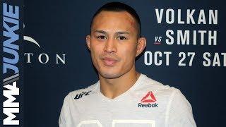 UFC Moncton: Andre Soukhamthath post-fight interview