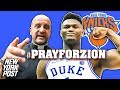 Religious Leaders Pray for the Knicks to Get Zion Williamson | #PrayForZion | New York Post Sports