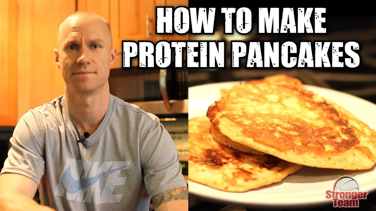 How to make high protein pancakes youtube ccuart Images