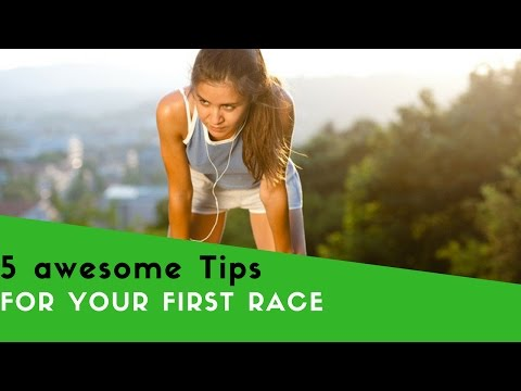 5 TIPS To Run your FIRST RACE