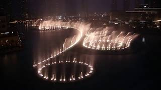 Dubai Fountain: I Will Always Love You