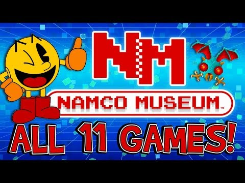 Namco Museum - Nintendo Switch - ALL 11 GAMES!