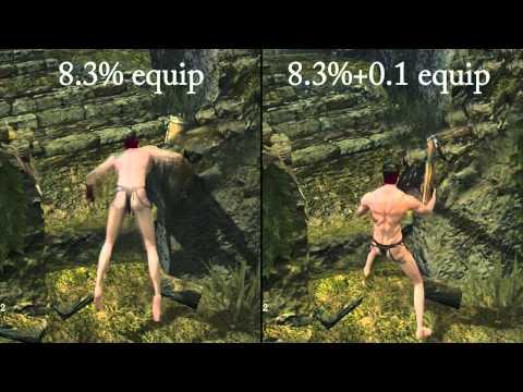 Dark Souls - The 4 Different Ninja Flip Recovery Times (DWGR) - Different Flip Speeds