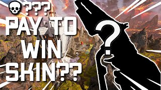 THIS PEACEKEEPER SKIN IS PAY TO WIN!?!?! (APEX LEGENDS PS4)