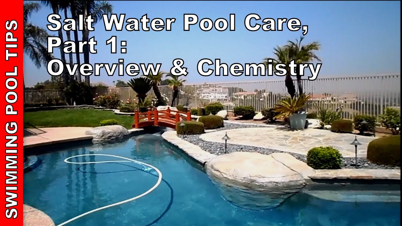 Salt or chlorine pool - Salt Water Pool Care Part One Overview Chemistry