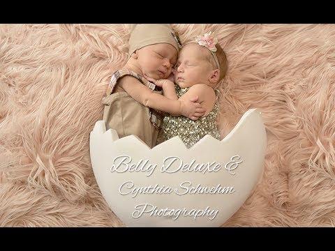 Belly Bowl Babybauchschale / Zwillinge Fotoshooting - YouTube