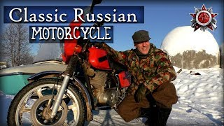 Classic Soviet Russian Motorcycle