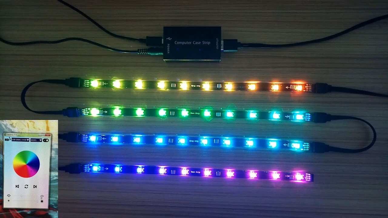 Dream Color RGB LED Lighting Kit for Gaming PC Computer ...