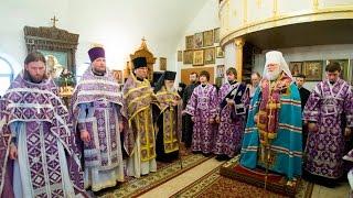 Праздничный молебен в день памяти преп. Иоасафа Снетогорского