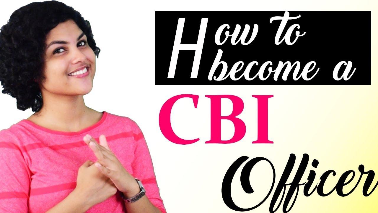 how to get a job in cbi