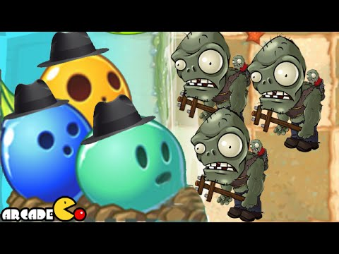 Plants Vs Zombies 2: Big Wave Beach Pinata Party Let's Bowling