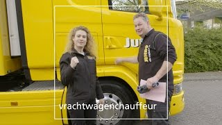 Vrachtwagenchauffeur voor de Jumbo - Dag 43