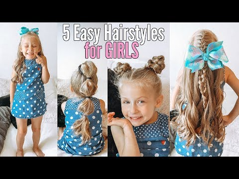 5-easy-hairstyles-for-girls-|-back-to-school-hair-ideas-for-little-girls!!