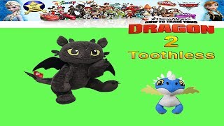 How To Train Your Dragon 2 Toys Toothless Toy Review - unboxing Giveaway