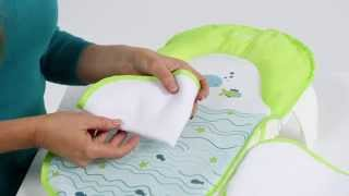 Summer Infant Folding Bath Sling with Warming Wings Product Video