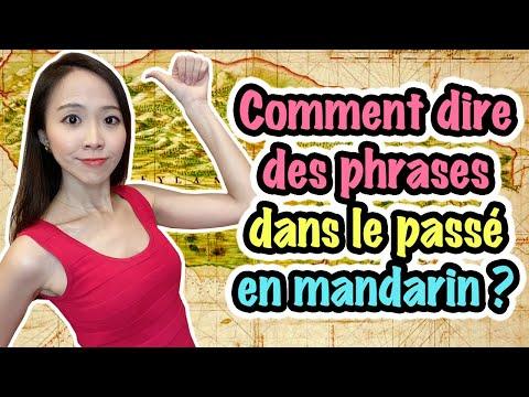Comment Dire Des Phrases Dans Le Passé En Mandarin? | Apprendre Le Chinois