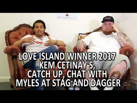 Kem Cetinay: Love Island Winner 2017  Catch Up Chat With Myl