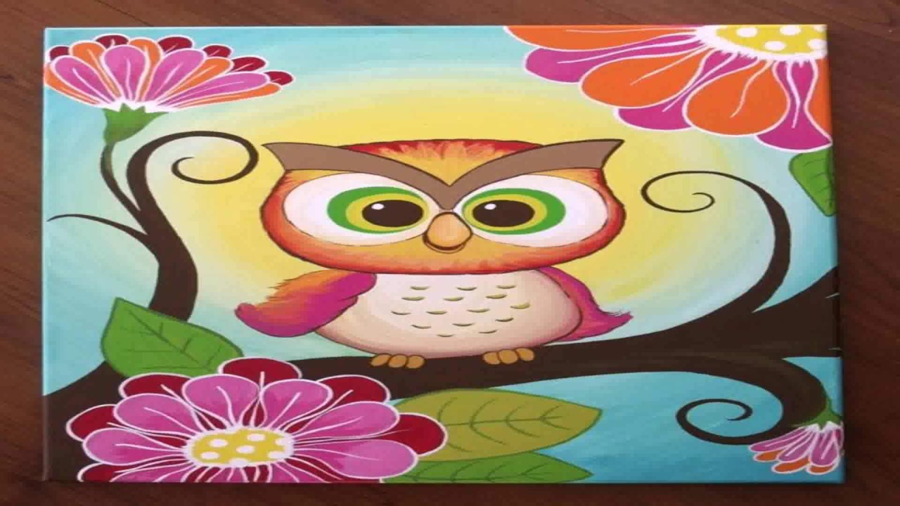 Diy Canvas Painting Ideas For Baby Room - YouTube