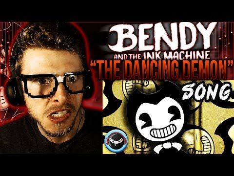 "Vapor Reacts #364 | BENDY AND THE INK MACHINE SONG ""The Dancing Demon"" SFM by Kruste REACTION!!"