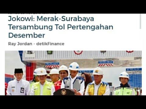 JOKOWI Merak Surabaya Tersambung Pertengahan Desember !! Mp3